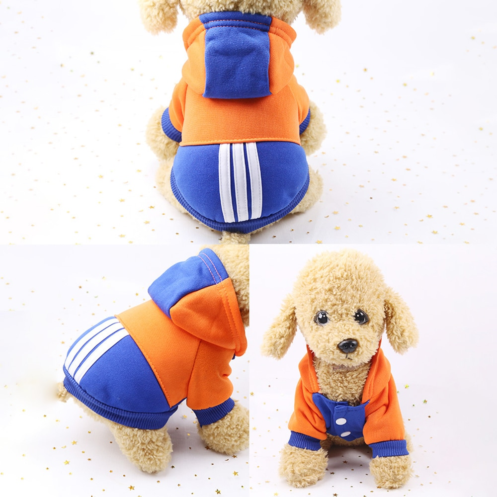Winter Warm Dogs Clothing Sports Hoodies
