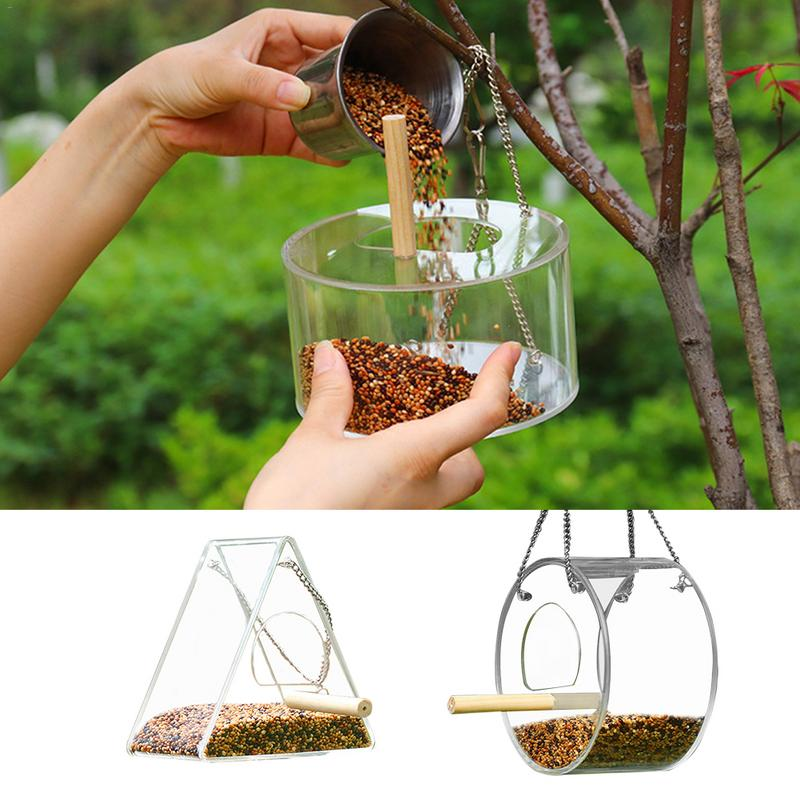 Bird Feeder Clear
