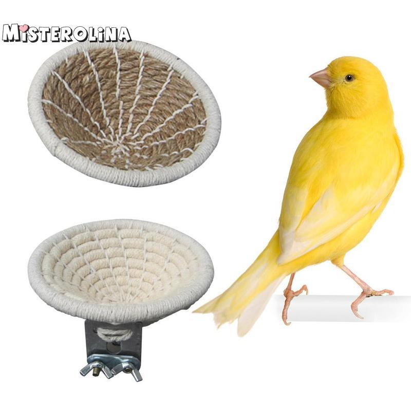 Canary Toy Bed Bird Nest Parrot Hemp Rope Xxxxl