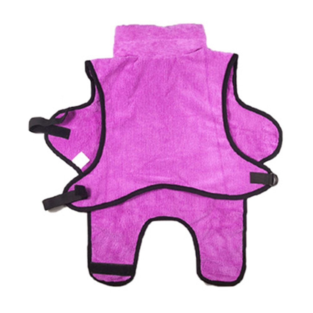 Dressing Gown Animal Cat Pet Bothing Towels Extremely Absorbing Warm Wiping Microfibre Quick Drying Training Supplies Dog Clothes