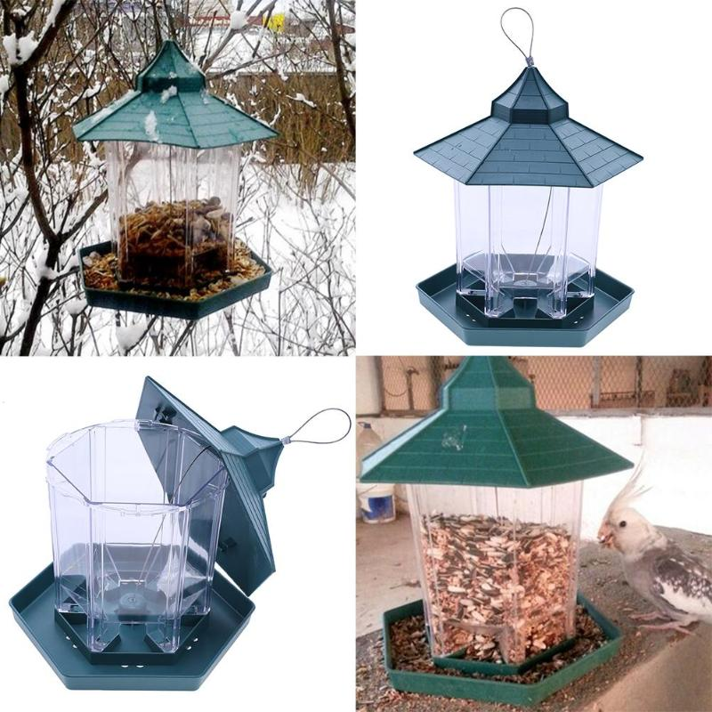 Green Pavilion Bird Feeder Outer