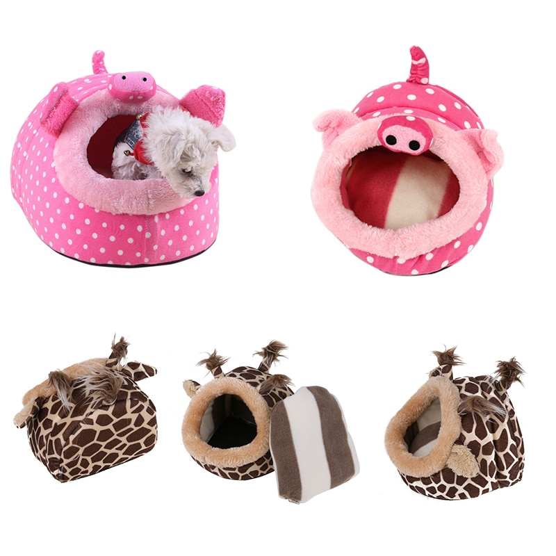 Rich Fabric Squirrel Hamster Cage Short Animal Bed Nest Shelter Guinea Pig Chinchilla Hedgehog Hamster Pig Deer Bed Hamster Add-ons