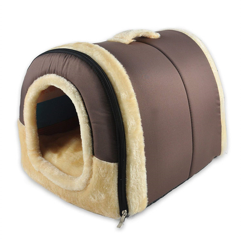 2 In 1 Home And Sofa For Dog And Cat Bed Cat Puppy Rabbit Pet Warm Softer Warm Pet Shelter Sofa Sleeping Bag Shelter Puppy Cave Bed