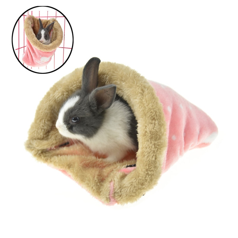 Hanging Thread Guinea Pig Hamster Bed Shelter Hammock Cold Season